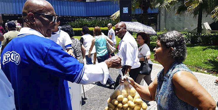 Entrega de batatas // São Paulo