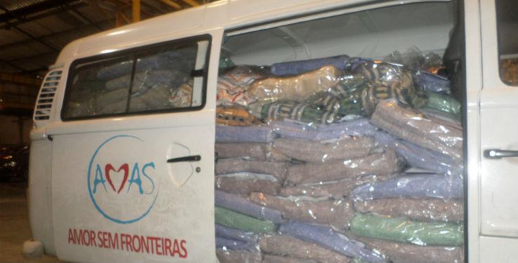 Resultado das doações do AMAS  - Verta o Bálsamo