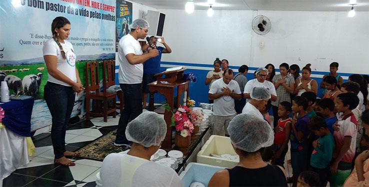 Ação da Amas no Amapá distribui mais de 300 marmitas em comunidades carentes